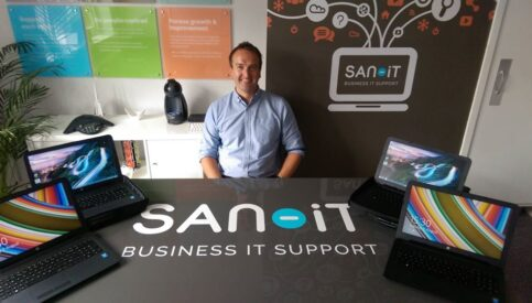 San-iT Provide Laptops to Support Open Arms International