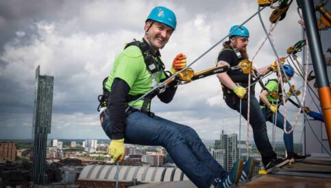 San-iT Abseil to Support The Royal Manchester Children's Hospital